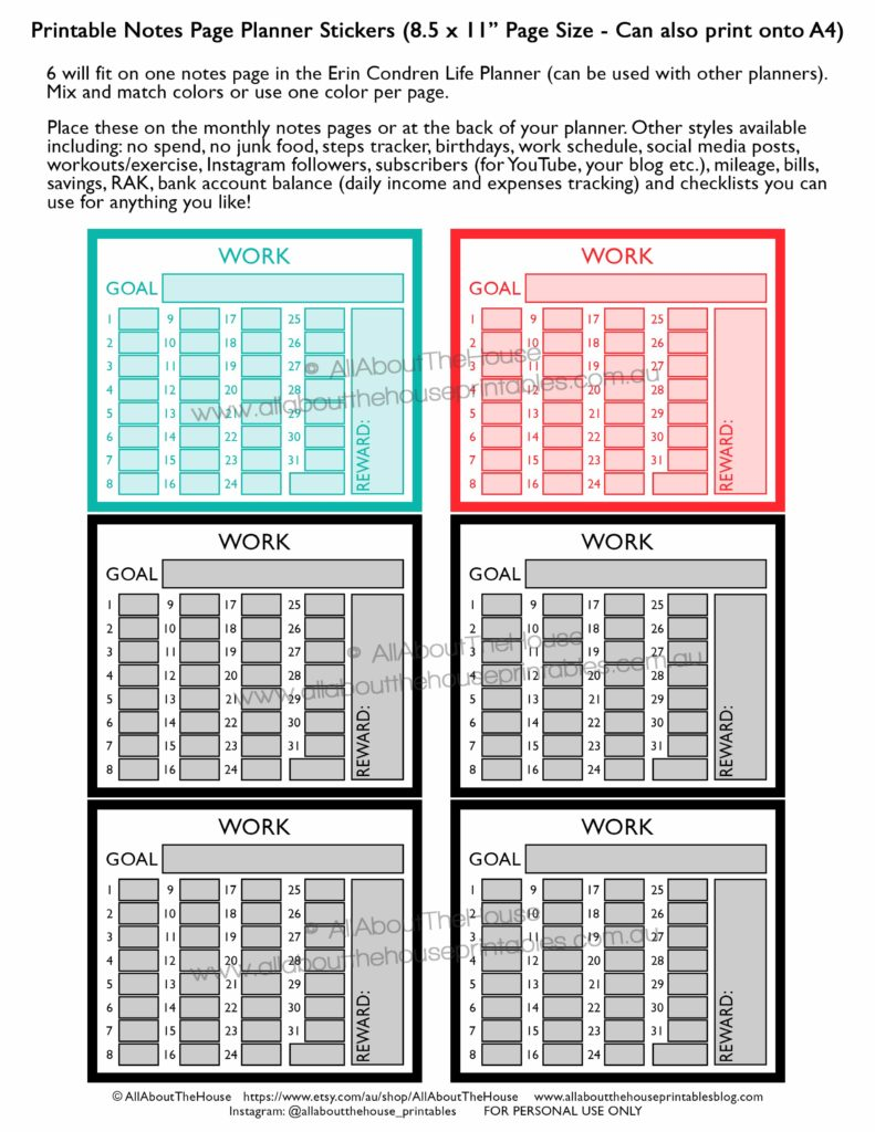 work-routine-schedule-tracking-hours-printable-rainbow-planner-sticker-shift-business-client-invoicing-erin-condren-planner-insert-happy-planner-notes-page-min