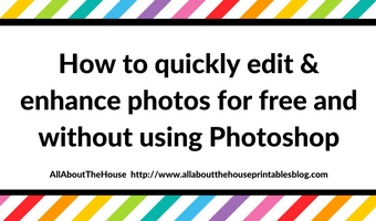 How to quickly edit and enhance photos for free and without using Photoshop