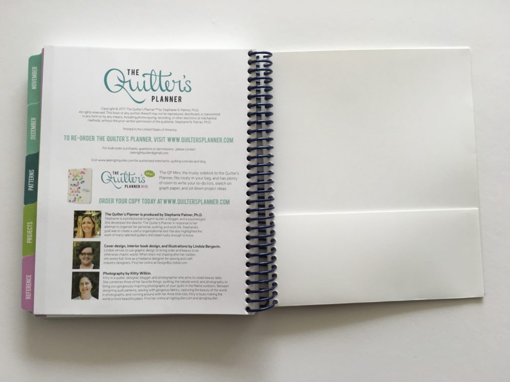 quilters planner 2017 review, best planners for 2017, project planner, quilting, sewing, hobby, patchwork quilting, project planner, organization