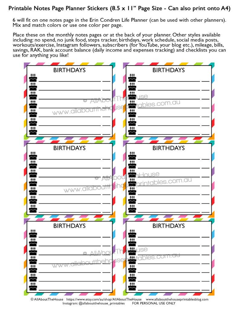 birthday-planner-stickers-printable-important-dates-party-celebrate-rainbow-erin-condren-life-planner-mambi-happy-planner