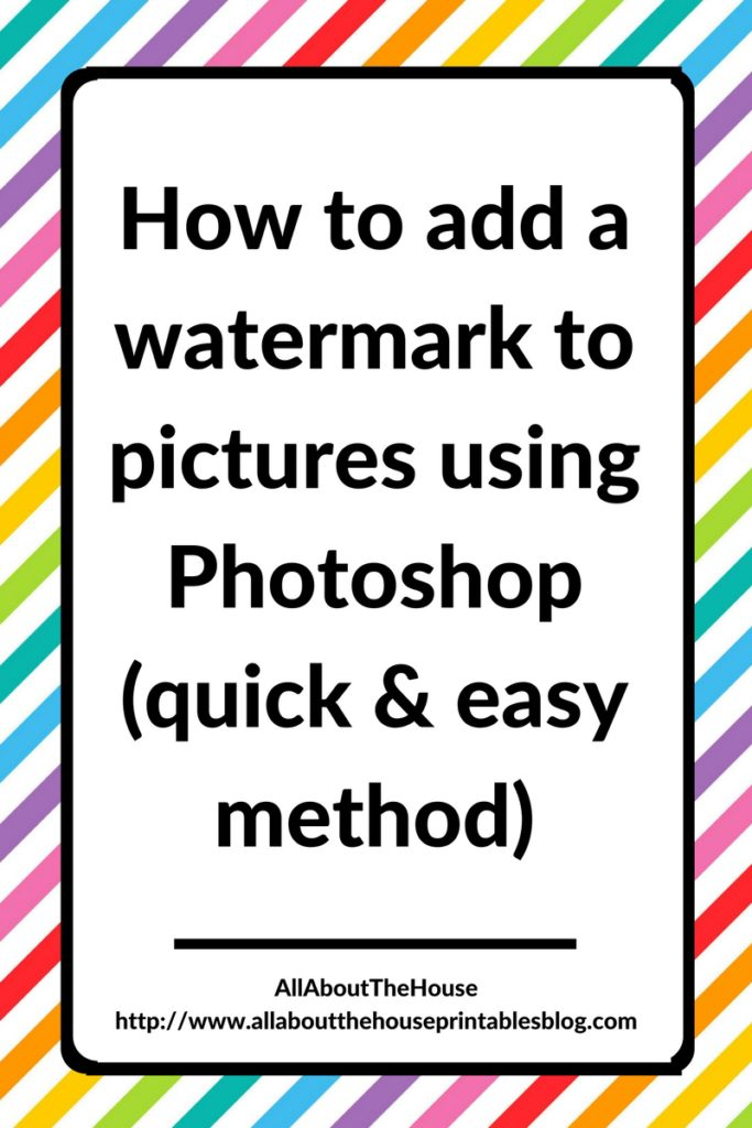 how-to-add-copyright-watermark-overlay-to-pictures-in-photoshop-quick-and-easy-method-step-by-step-video-tutorial