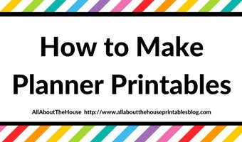 how to make planner printables in photoshop diy planner insert dated planner create your own plannner insert ecourse tutorial