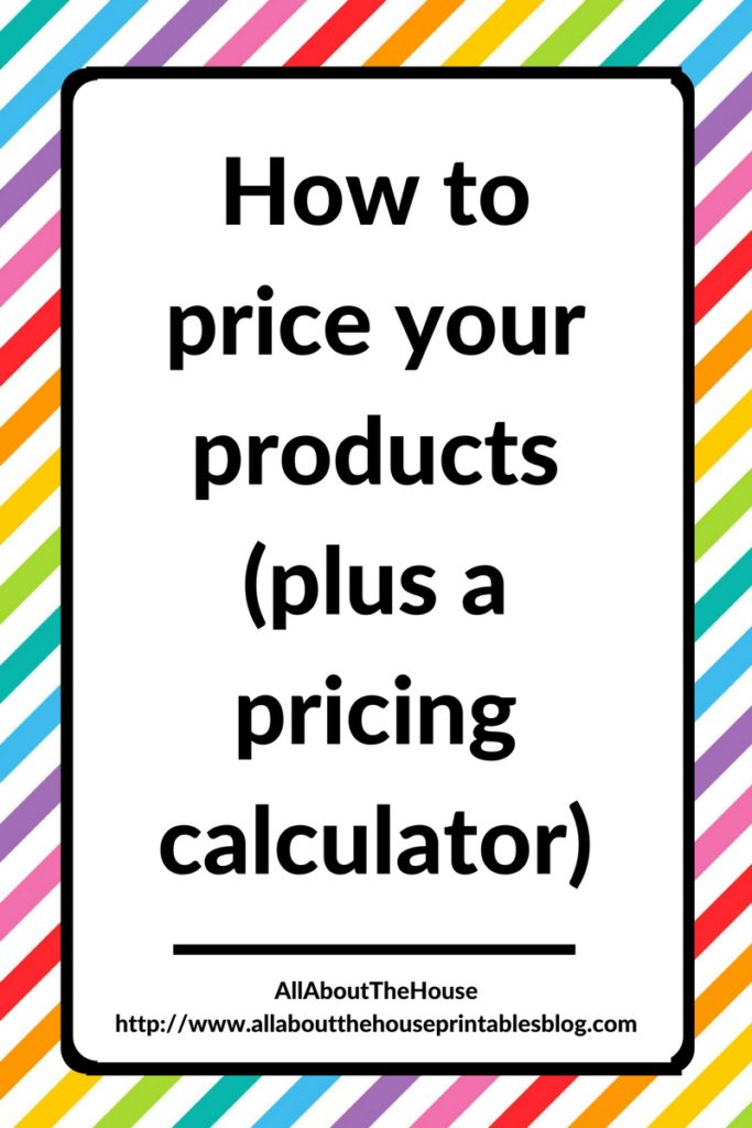 how to price handmade items how to price your products plus a pricing calculator 4918