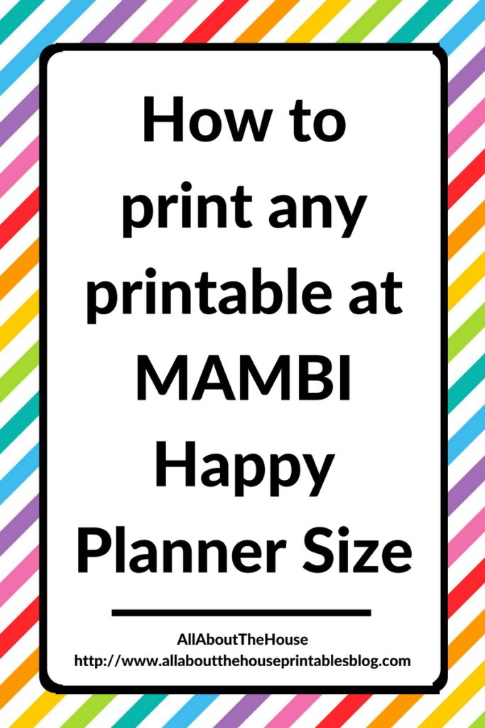 It's just a photo of Impeccable Free Mini Happy Planner Printable Inserts
