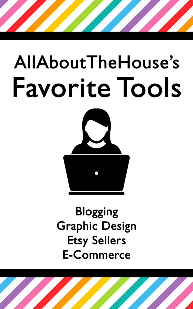 Favorite tools and resources for bloggers, graphic designers, etsy sellers, ecommerce, online shop owners, market research, apps, free ebook, download
