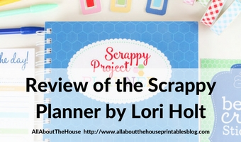 review of the scrappy planner by lori holt bee in my bonnet project planner versus quilters planner sewing craft