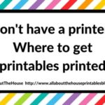 Don't own a printer? Here are 6 companies that will print and ship printables to your door