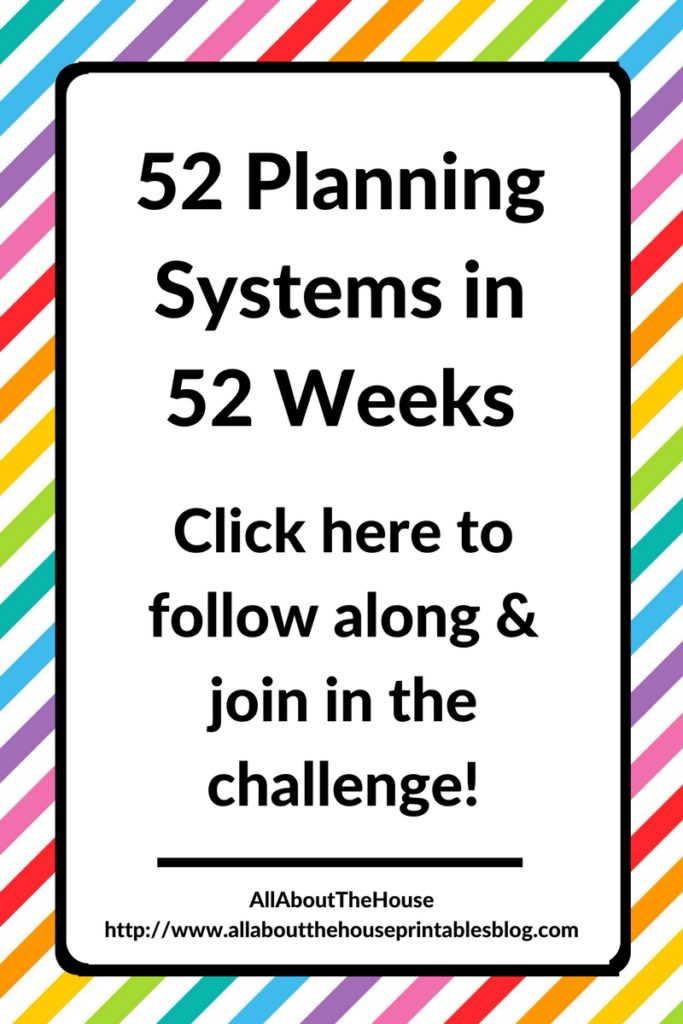 52 planning systems in 52 weeks planner challlenge addict how to plan your week effectively time management best daily planner