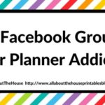 60 Facebook Groups for Planner Addicts To Join