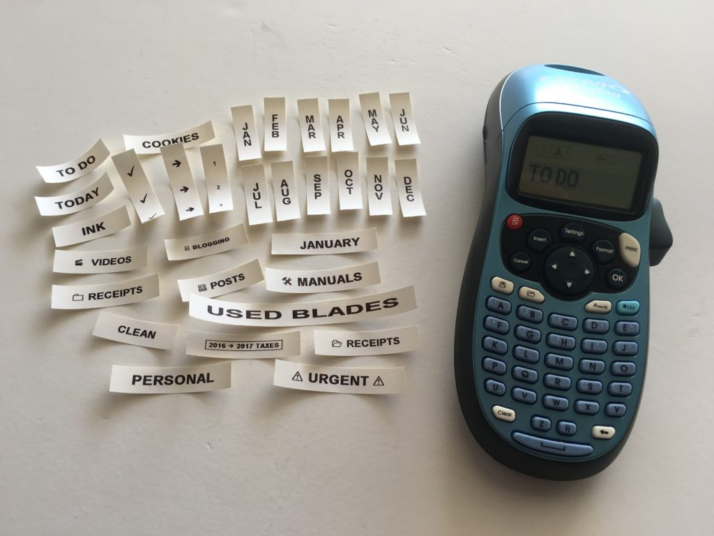 label machine maker