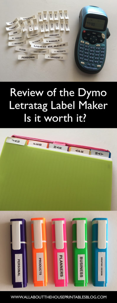 dymo letratag label maker review newbie planner supplies labelling 101 best labellling machine under 50 dollars diy tab labels color coding