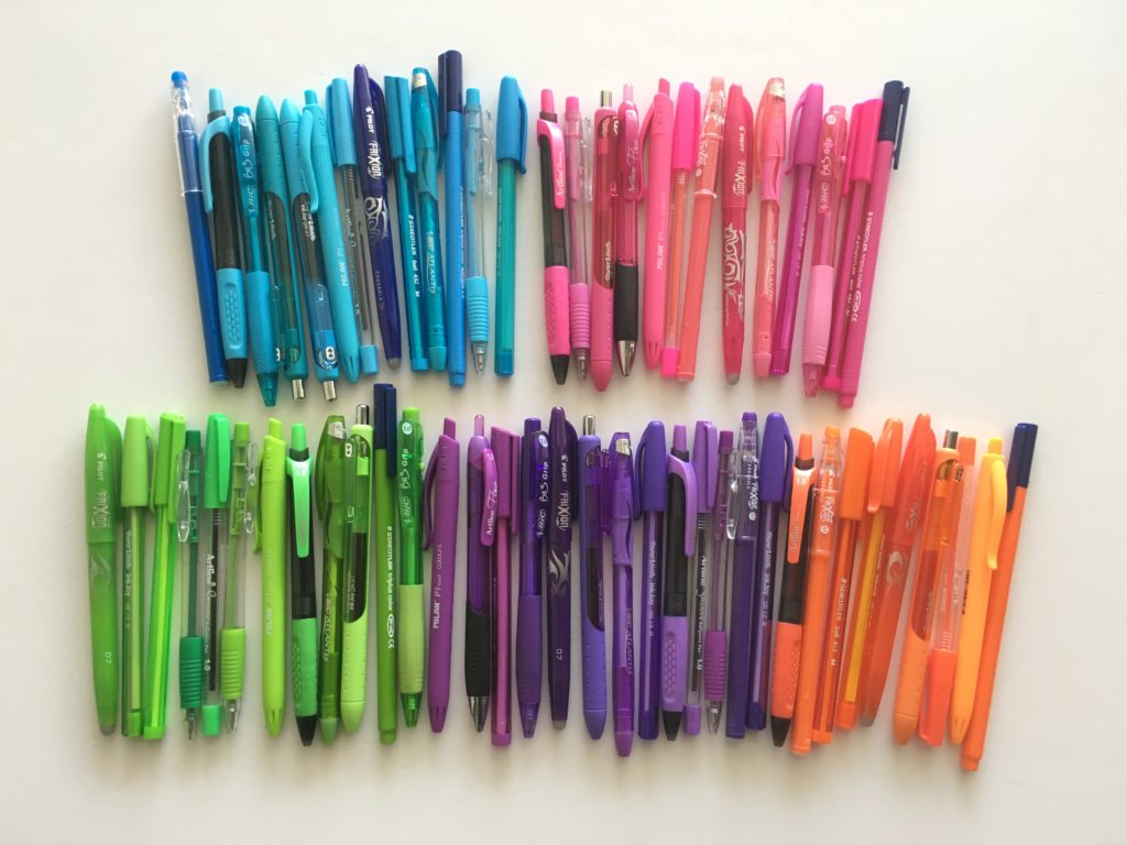 Ultimate list of the best planner pen brands and how to ...