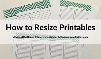 how to resize printables step by step tutorial video mambi erin condren plum paper kikki k a5 filofax
