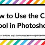 How to use the crop tool in Photoshop (step by step video tutorial)