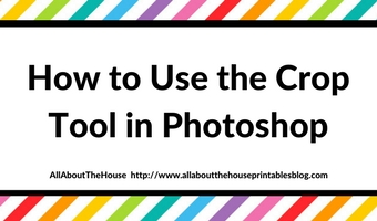 how to use the crop tool in photoshop step by step tutorial