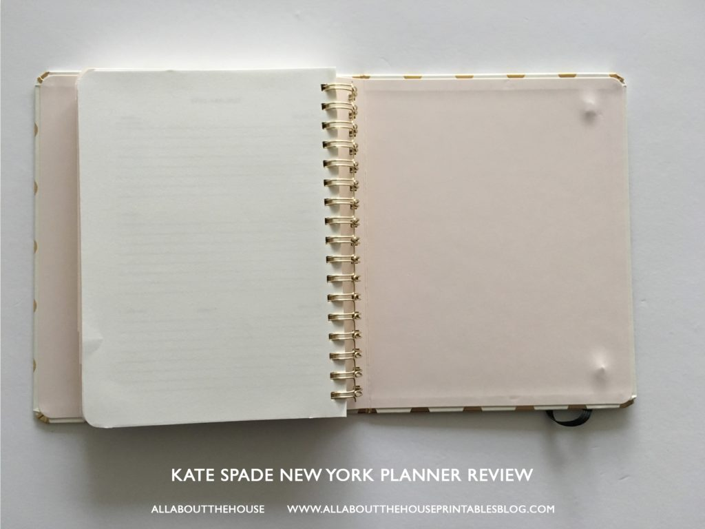 kate spade new york planner review best planner for 2017 agenda review a5 horizontal lines study school mom agenda organizer-min