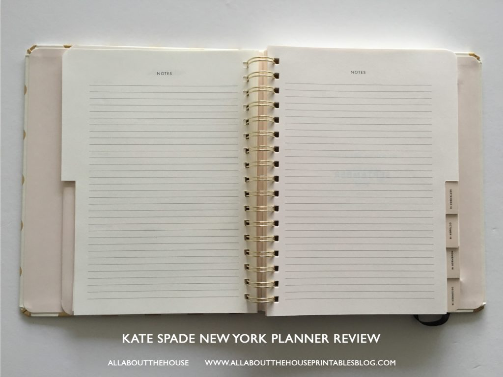 kate spade planner review best planner for 2017 agenda review a5 horizontal lines study school mom agenda organizer small compact-min