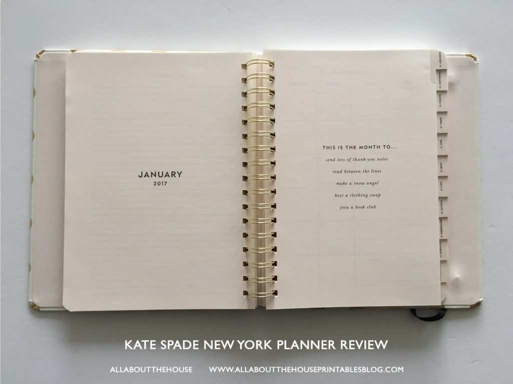 kate spade planner review best planner for 2017 agenda review a5 horizontal lines study school mom agenda tabs-min