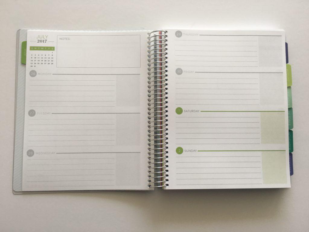 plum paper horizontal planner versus erin condren plum paper haul best planners for 2017