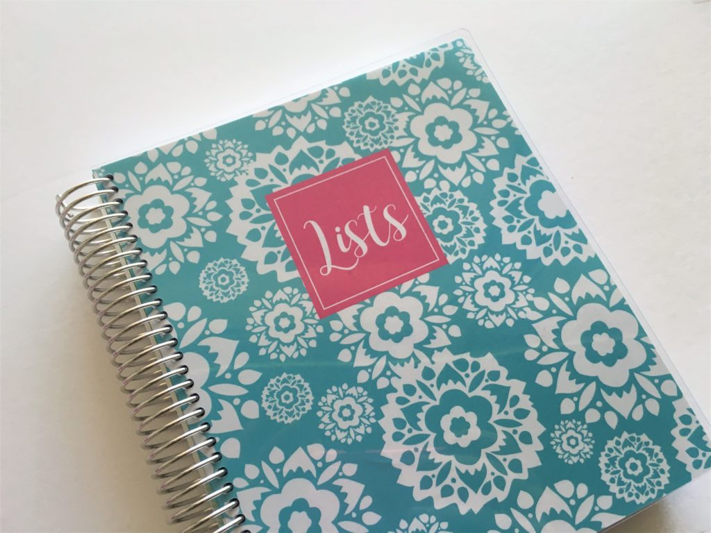 plum paper lists notebook diy planner plum paper haul and review
