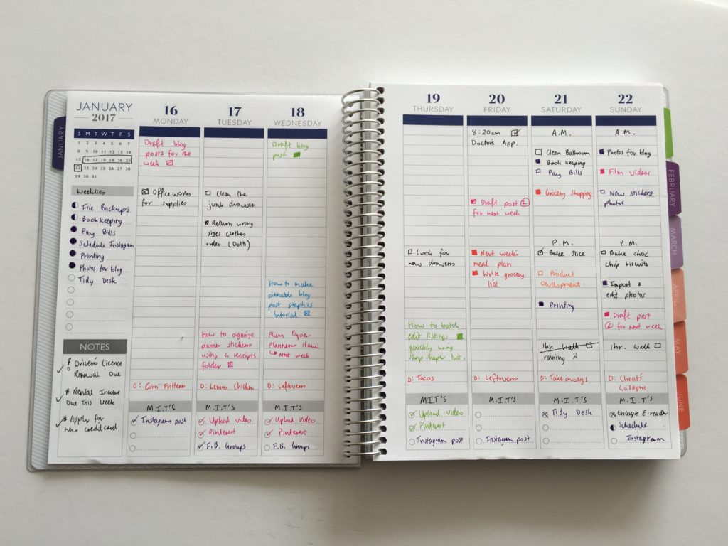 plum paper planner review vertical better than erin condren cheaper alternative how to color code your planner lined