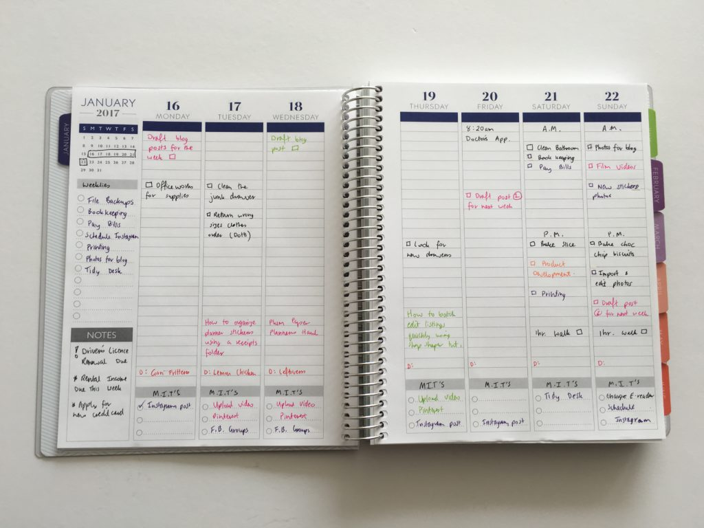 plum paper vertical life planner review cheaper alternative to erin condren color coded weekly planning spiral bound personalised