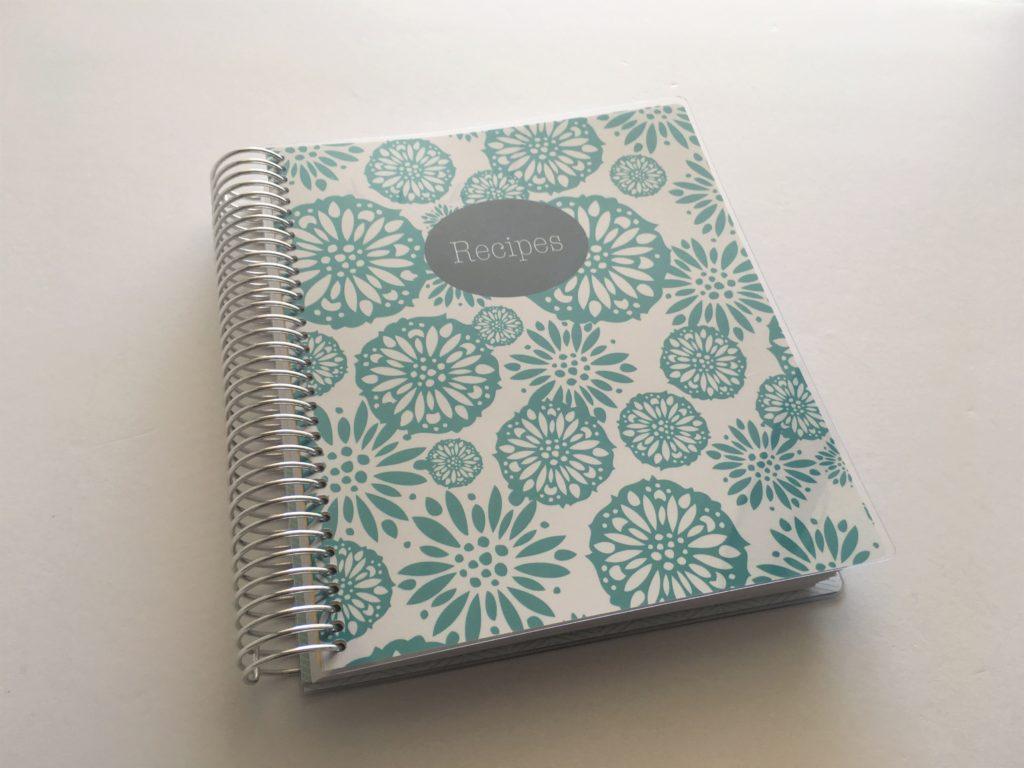recipe book plum paper haul review diy best planner company plum paper versus erin condren how to organize reicpes