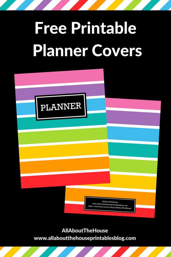 free printable planner cover erin condren plum paper diy cover rainbow limelife planner hack tutorial kikki k filofax