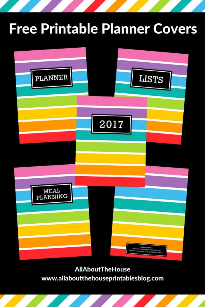 free printable planner cover erin condren plum paper diy cover rainbow limelife planner tutorial binder cover school notebook