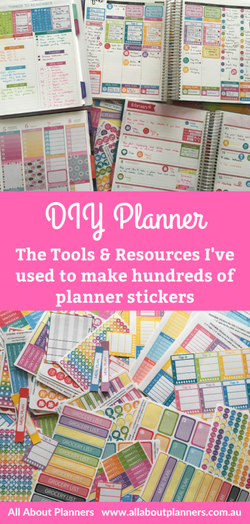 how to make planner stickers tools and resources needed silhouette studio software tutorial label paper color collections
