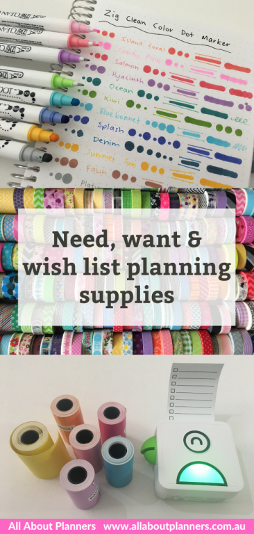 need want and wish list planning supplies planning tips newbie ideas essentials get started planning gift guide for every budget