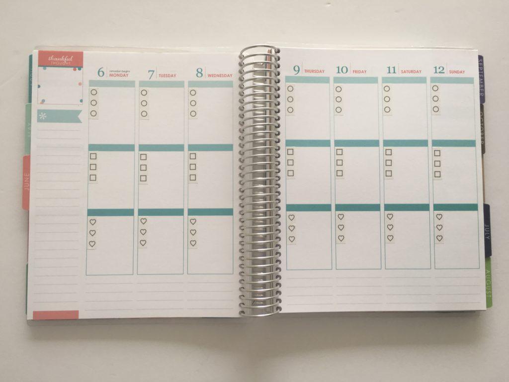 planner decorating using washi tape checklist washi planning to do list erin condren eclp planner hack