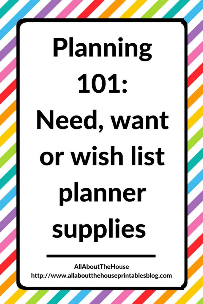 planning 101 planner newbie planner supplies need want wish list must have accessories is the erin condren worth it