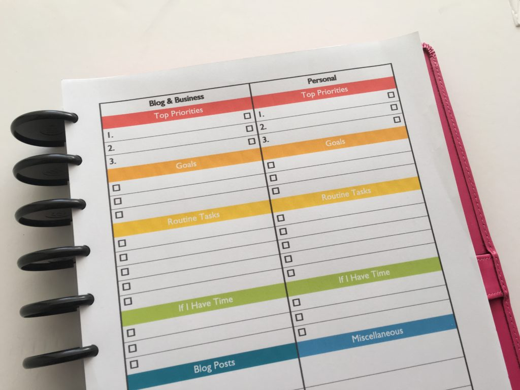 how to choose a planner thats right for you pros and cons of using 1 page weekly planner printable free insert layout