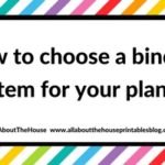 How to choose a binding system for your planner (comparison and which one I like the most)