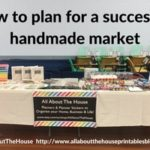 How to prepare and plan for a craft show, trade show or handmade market