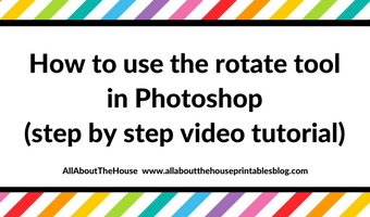 Photoshop for beginners: How to use the rotate tool in Photoshop