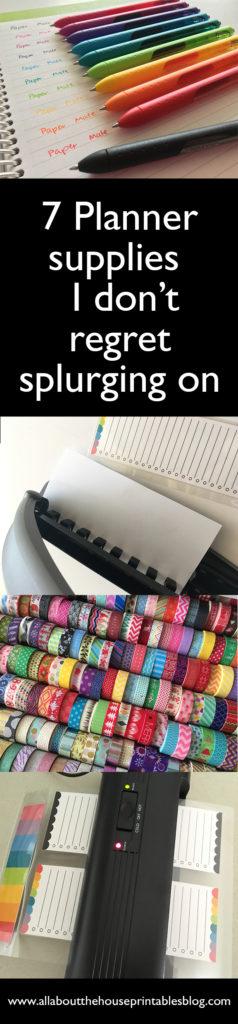 planner supplies i don't regret splurging on planning pen washi tape arc notebook leather favorite planner supplies best