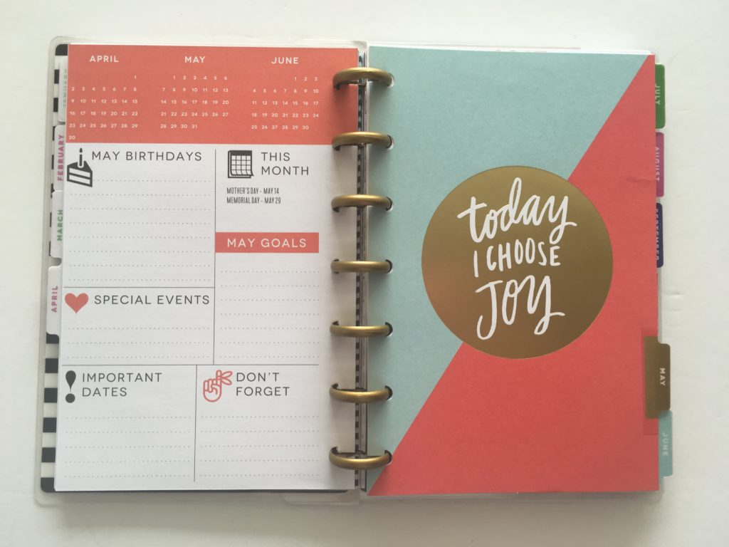 MAMBI Mini Happy Planner Review (pros, cons, should you buy