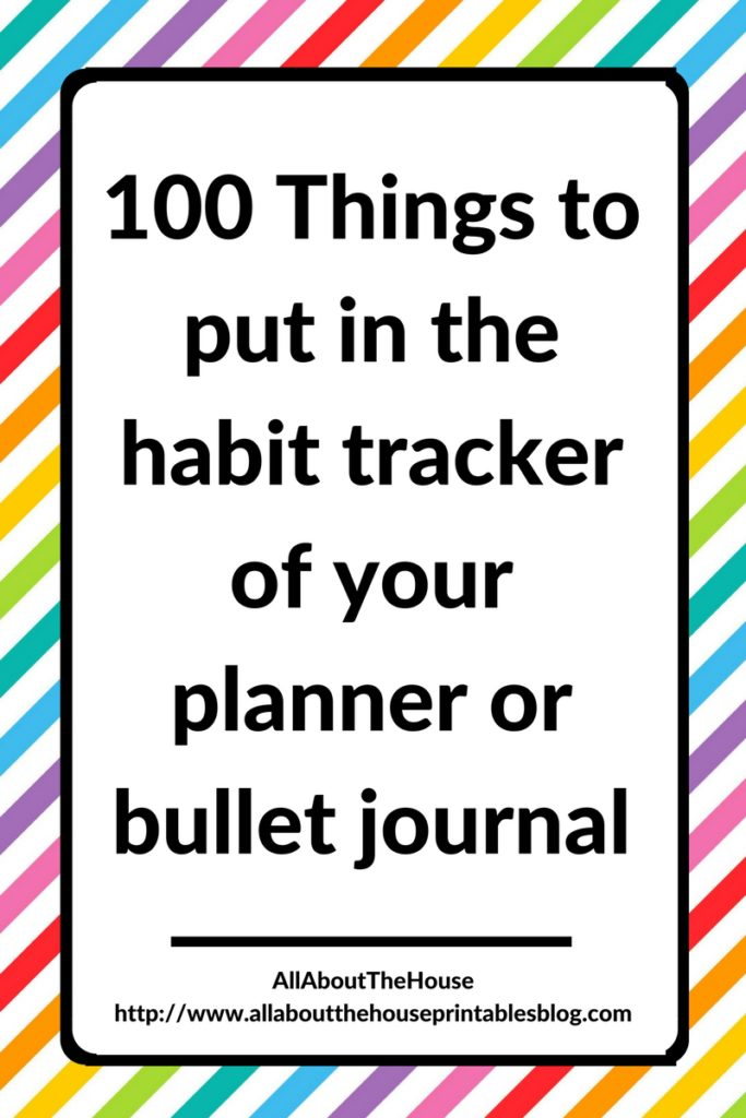 what to put in a habit tracker routines planning productivity using empty notebook blank notes pages planner ideas hack diy free
