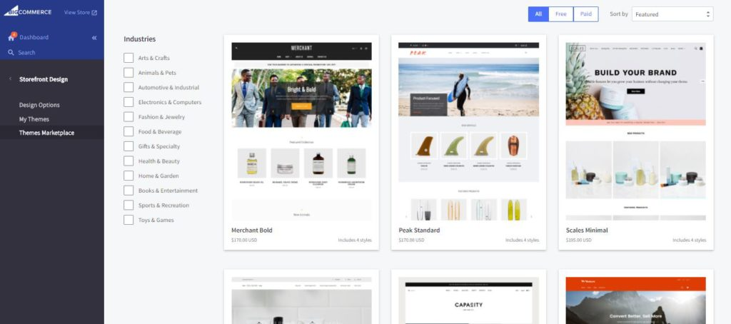 Bigcommerce review bigcommerce versus shopify which is better value cheaper unlimited products digital products
