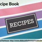 How to make a DIY Recipe Book (plus free printables)