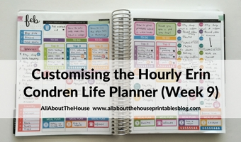 erin condren hourly life planner review weekly spread plan with me rainbow how to color code your planner customise personalise