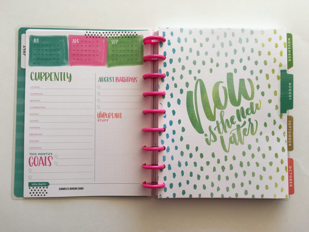 happy planner horizontal weekly planner review mambi pros and cons monthly overview
