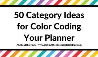how to color code your planning color coding planner tips organization efficient school category ideas inspiration diy organized
