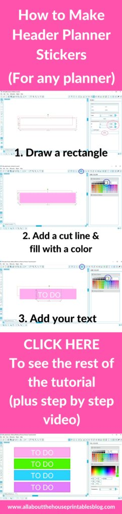 How to make your own custom Erin Condren (or any planner