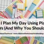 Why I plan my day using planner stickers (and why you should too!)