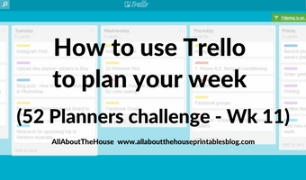 how to plan your week using trello digital planning tools apps pen and paper versus electronic agenda weekly daily organizer