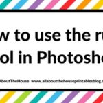 How to use the rulers tool in Photoshop (step by step video tutorial)