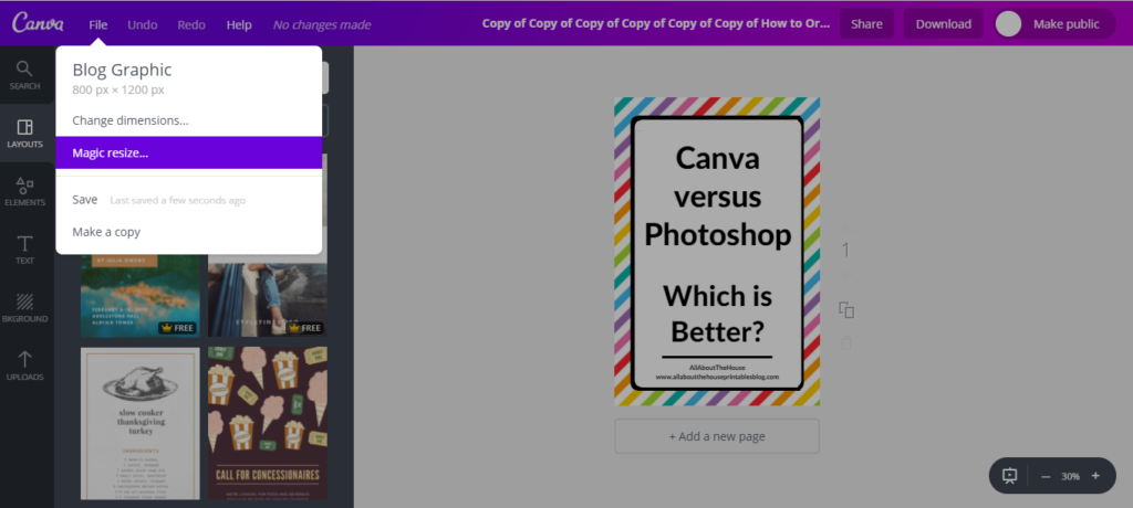is canvas paid plan worth it magic resize feature tutorial best graphic design software tutorial canva versus photoshop picmonkey